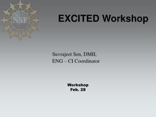 EXCITED Workshop