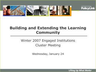 Building and Extending the Learning Community