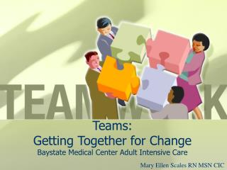 Teams:  Getting Together for Change