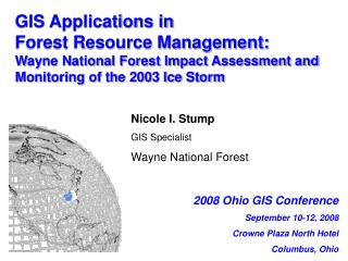 GIS Applications in  Forest Resource Management: