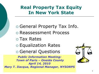 Real Property Tax Equity