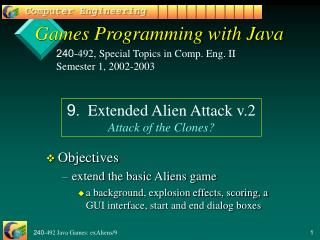 Games Programming with Java