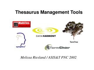 Thesaurus Management Tools
