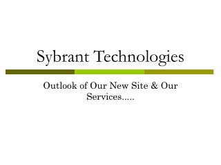 New Look of Our Site and Services