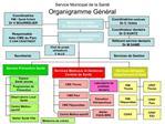 Service Municipal de la Sant  Organigramme G n ral