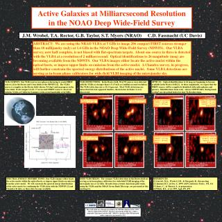 Active Galaxies at Milliarcsecond Resolution in the NOAO Deep Wide-Field Survey