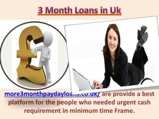 3 month cheap loans online