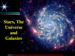 Stars, The Universe and Galaxies