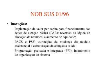 NOB SUS 01/96