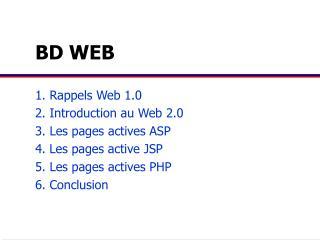 BD WEB