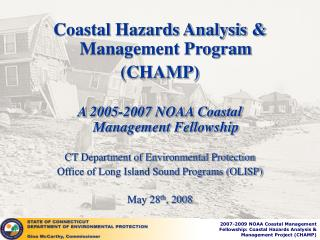 Coastal Hazards Analysis & Management Program  (CHAMP)