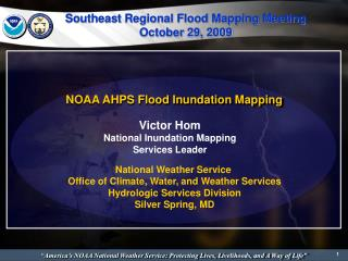 NOAA AHPS Flood Inundation Mapping