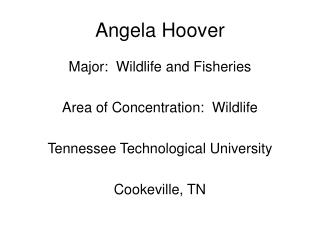 Angela Hoover