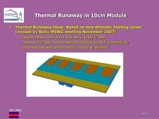 Thermal Runaway in 10cm Module
