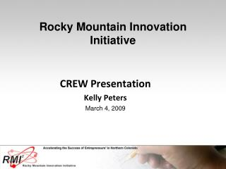 Rocky Mountain Innovation Initiative