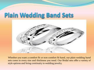 plain wedding band