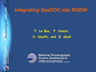 Integrating SeaDOG into RODIN