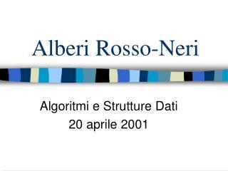 Alberi Rosso-Neri