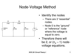 Node-Voltage Method