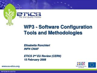 WP3 - Software Configuration Tools and Methodologies