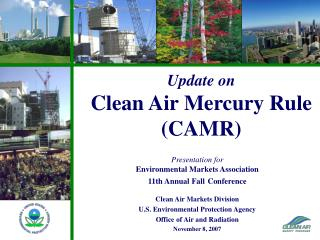 Update on Clean Air Mercury Rule (CAMR)