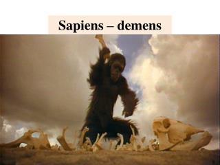 Sapiens – demens