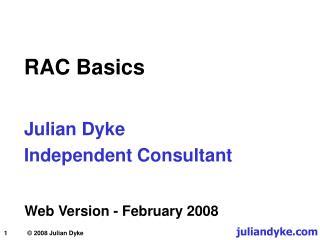RAC Basics