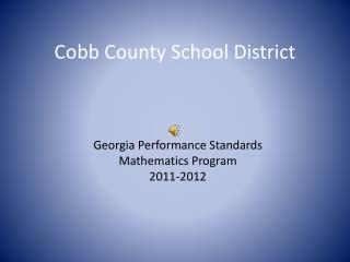 Cobb County School District