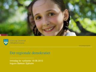 Det regionale demokratiet