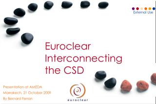 Euroclear  Interconnecting  the CSD