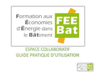 Espace collaboratif Guide pratique d�utilisation