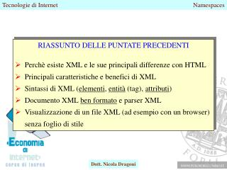 XML Namespaces