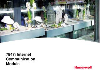 7847i Internet Communication Module