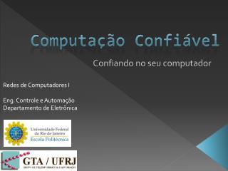 Computação Confiável
