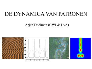 DE DYNAMICA VAN PATRONEN