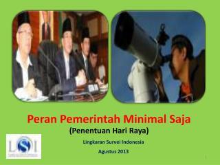 Lingkaran Survei Indonesia Agustus 2013