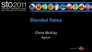 Blended Rates