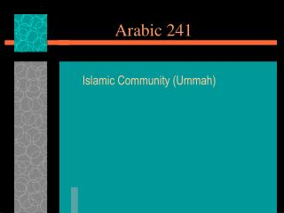 Arabic 241