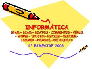4º BIMESTRE 2008