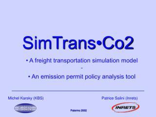 SimTrans•Co2