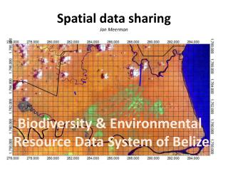 Spatial data sharing Jan Meerman
