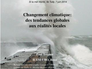 Changement climatique: des tendances globales aux réalités locales