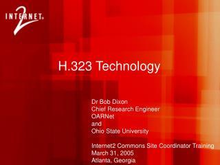 H.323 Technology