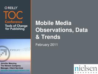 Mobile Media Observations, Data & Trends