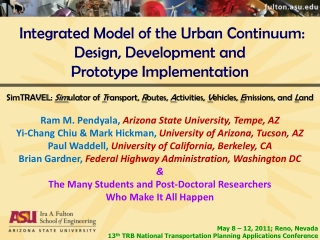 Modeling  Simulation for Enterprise Test and Evaluation
