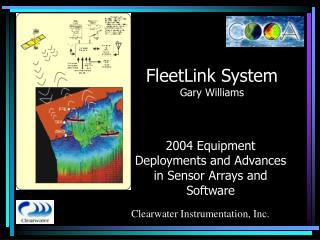 FleetLink System Gary Williams