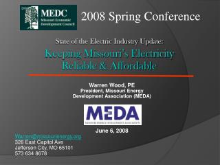 State of the Electric Industry Update: Keeping Missouri's Electricity  Reliable & Affordable
