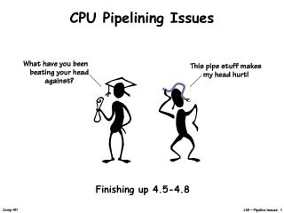 CPU Pipelining Issues