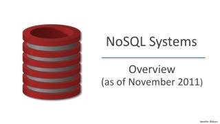 NoSQL  Systems