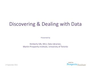 Discovering & Dealing with Data